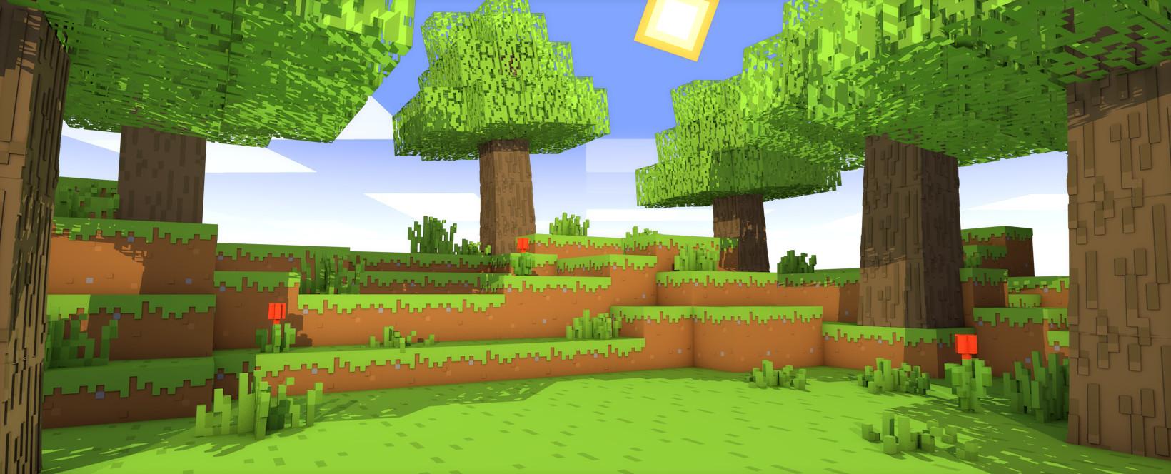 Supawit Oat - [Minecraft Wallpaper
