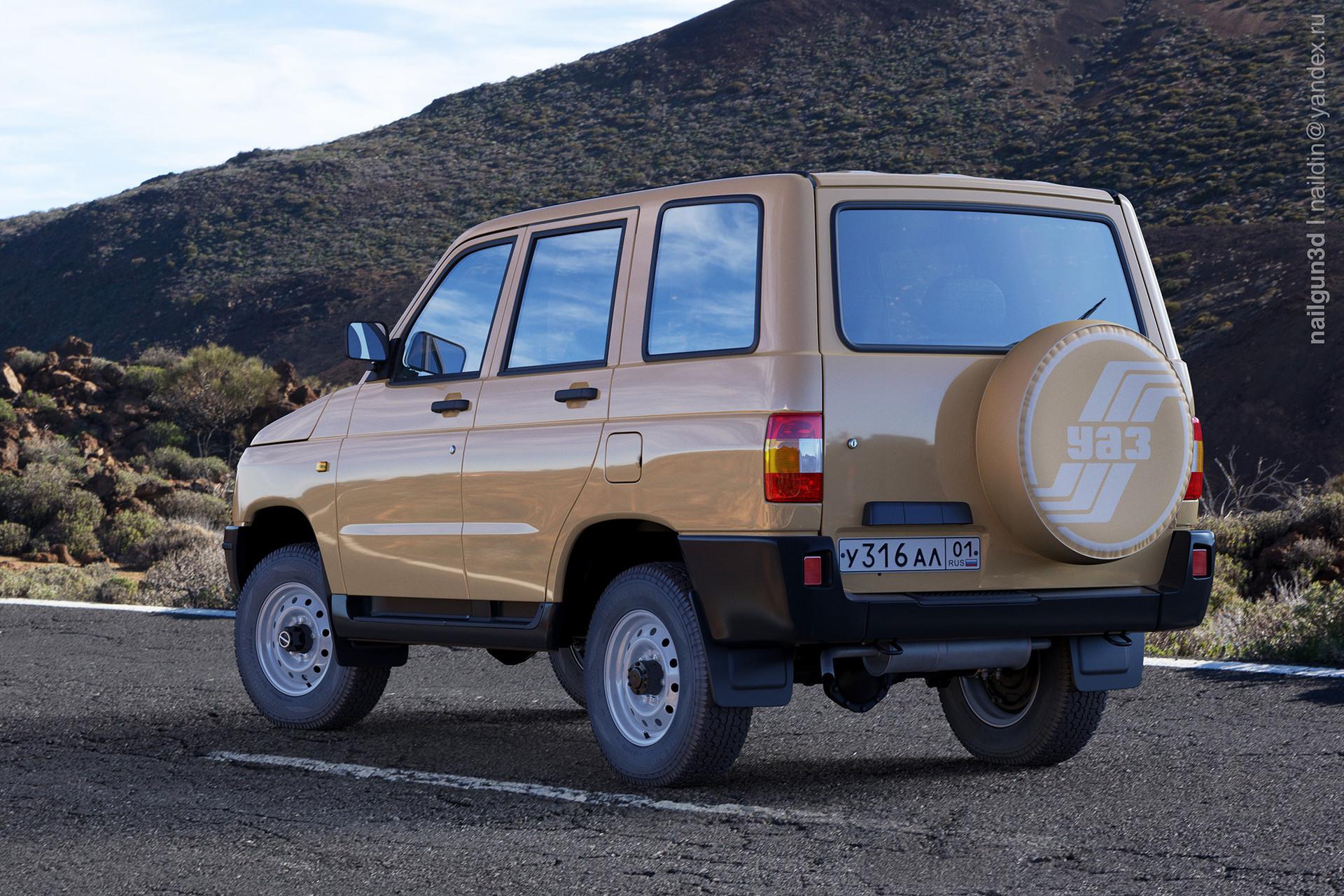 Nail khusnutdinov als 228 010 uaz 3160 simbir rear view 3x