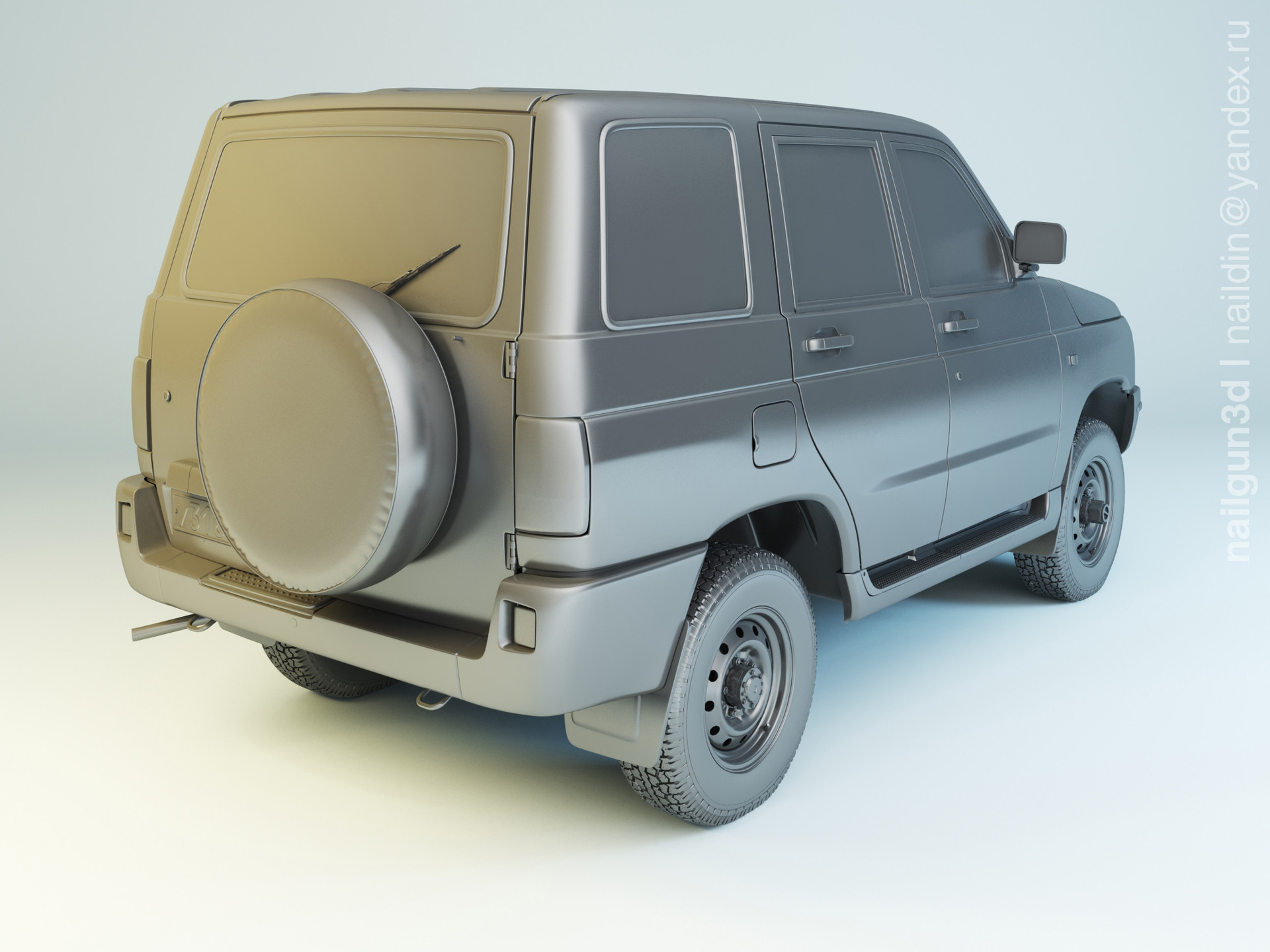 Nail khusnutdinov als 228 000 uaz 3160 simbir modelling 1