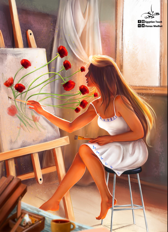 Hanaa medhat final painter