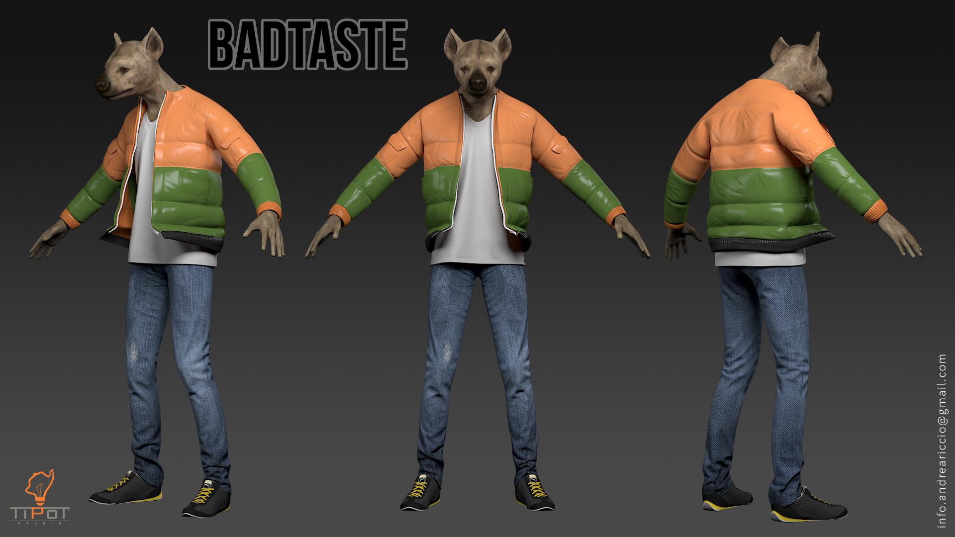 BADTASTE, Game character