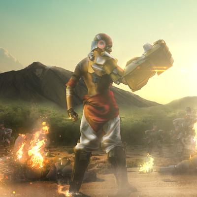 Film bionicx doomfist cosplay filmbionicx