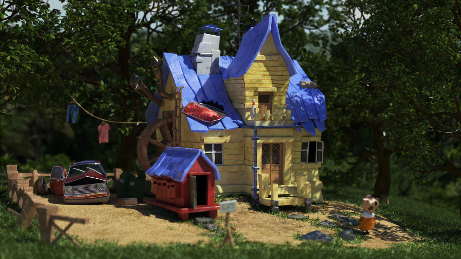 Silly Cow House Render 02