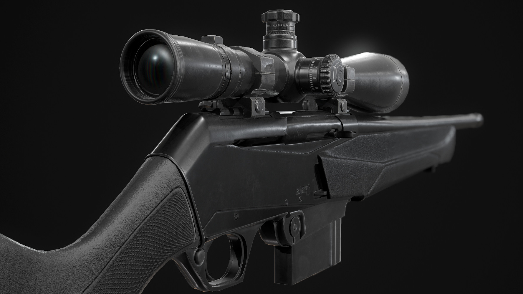 Juan martin garcia forn rifle