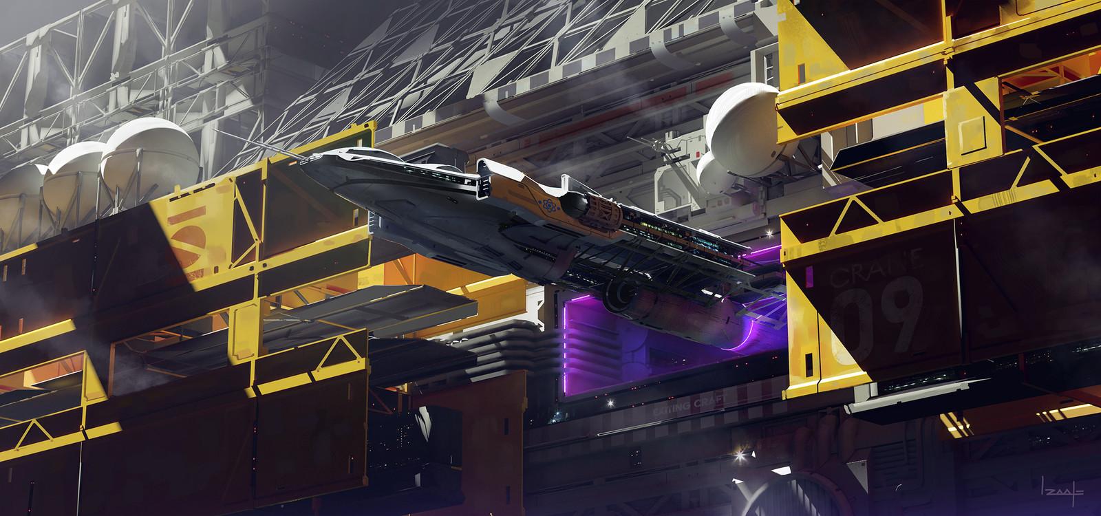 Mission Departure