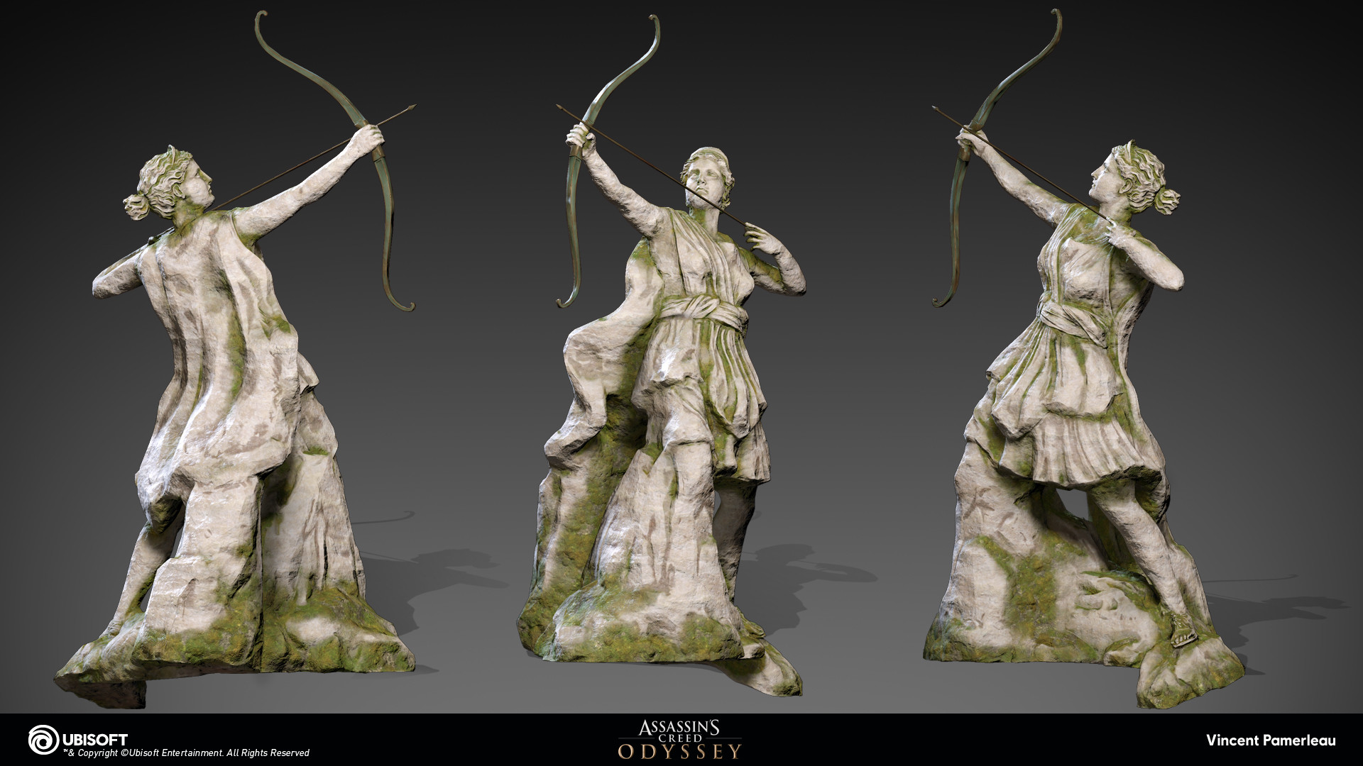 Artstation Assassin S Creed Odyssey Statues Vincent Pamerleau