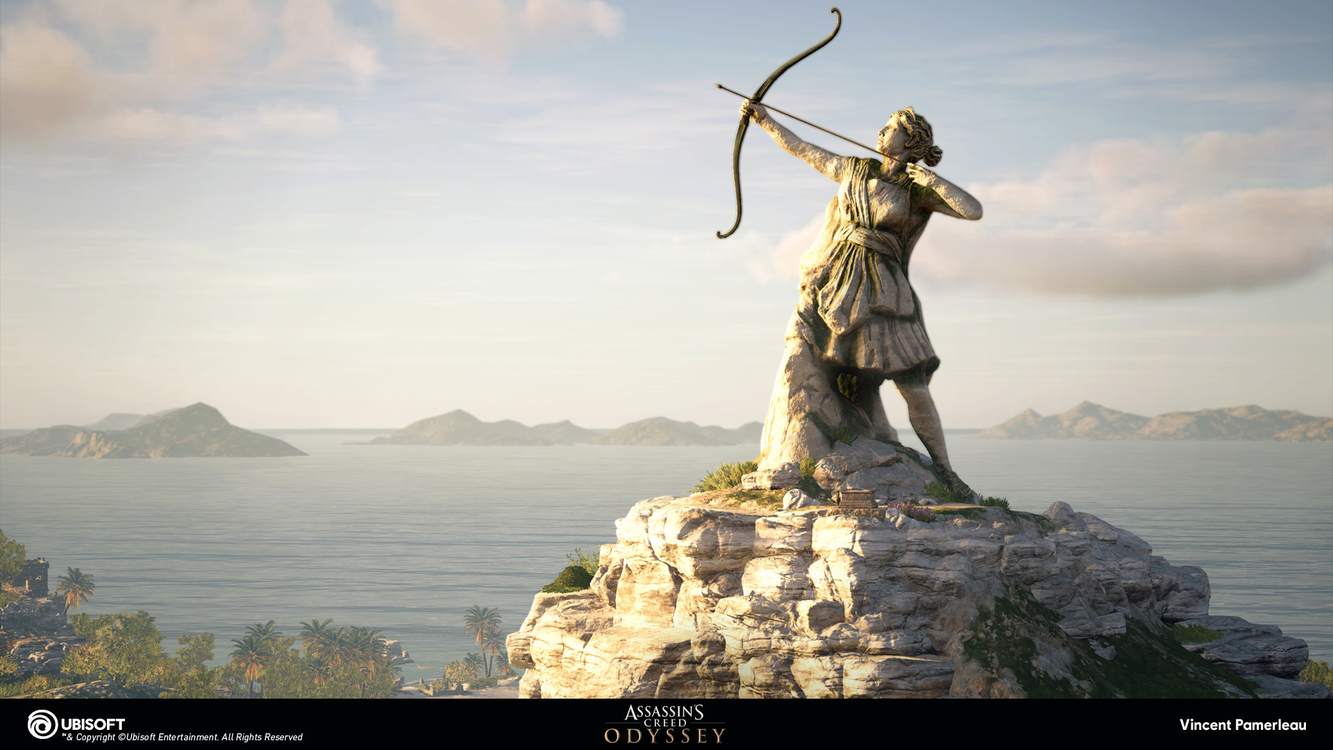 Artstation Assassin S Creed Odyssey Statues Vincent Pamerleau