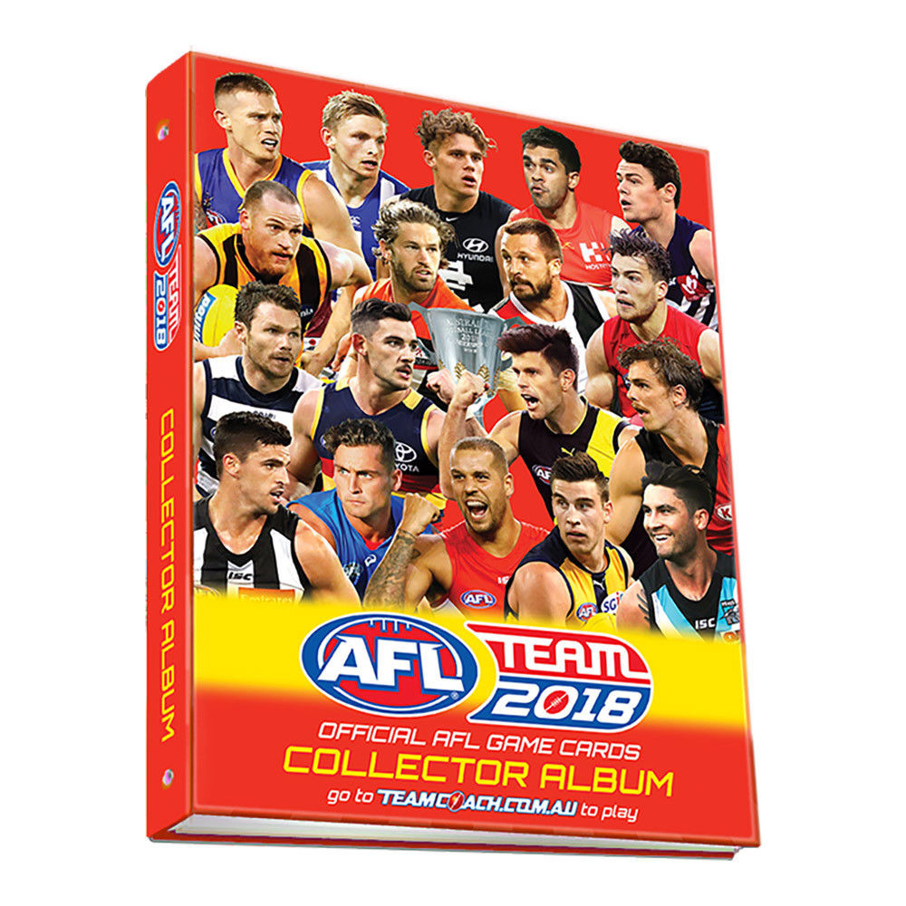 AFL TeamCoach Card Collector Album