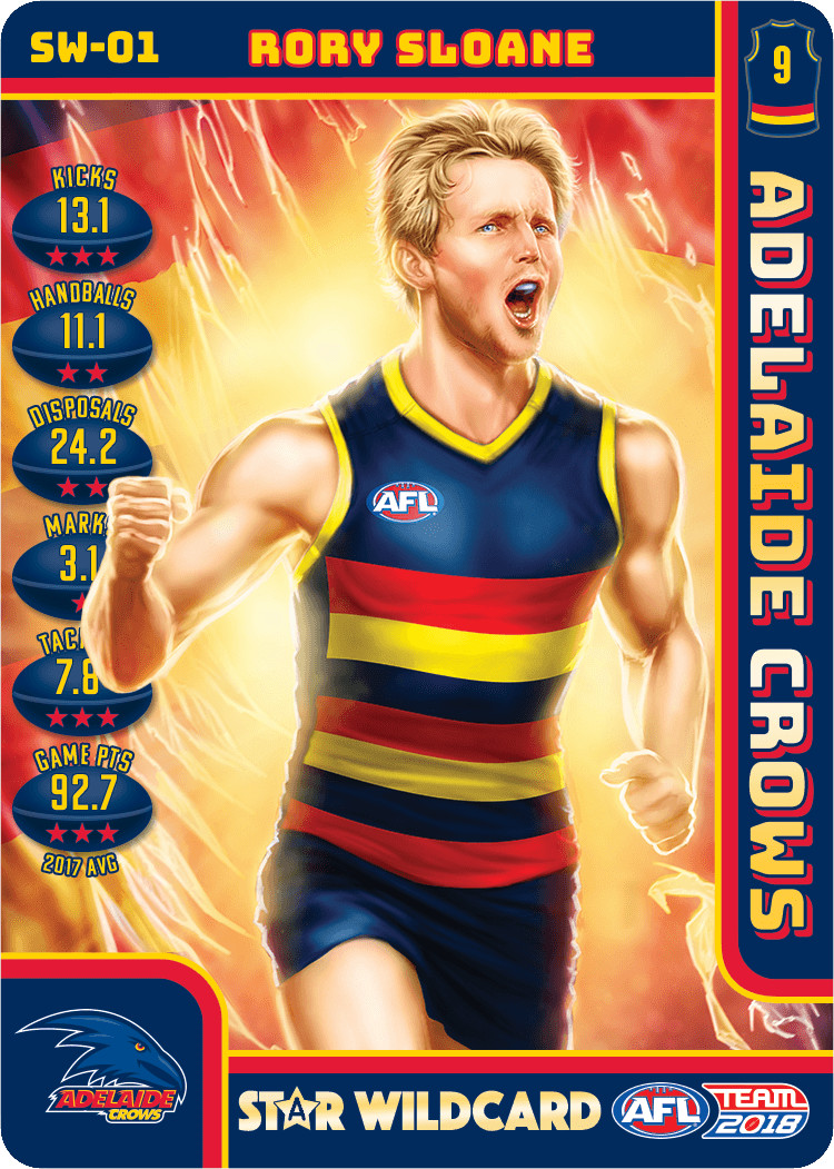Rory Sloane Star Wild Card