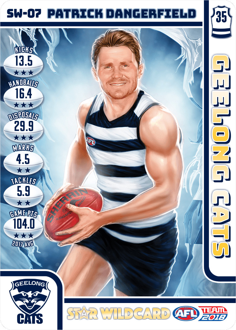 Patrick Dangerfield Star Wild Card