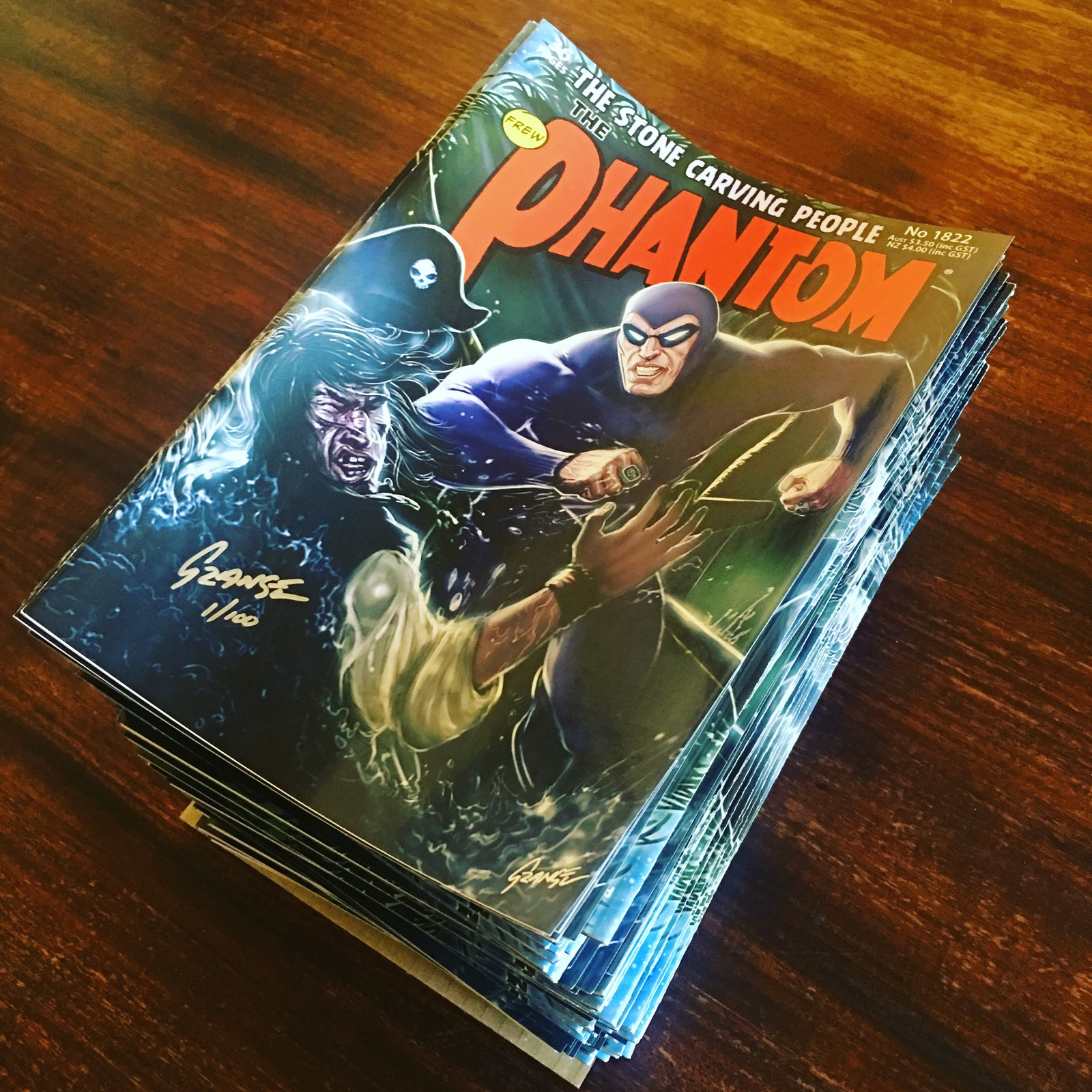 Final Printed Issue of The Phantom #1822 (2018)
