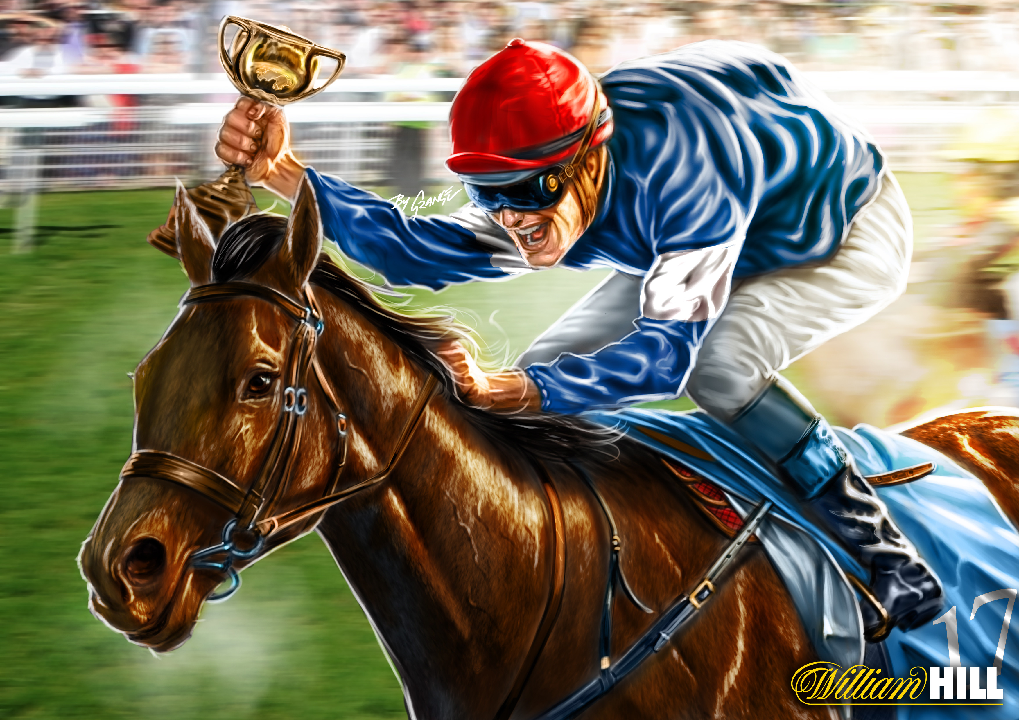 17 - Almandin (Race Winner)