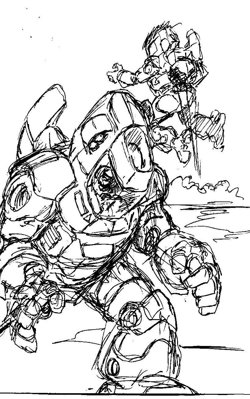 Vincent bryant inktober 16 sketch