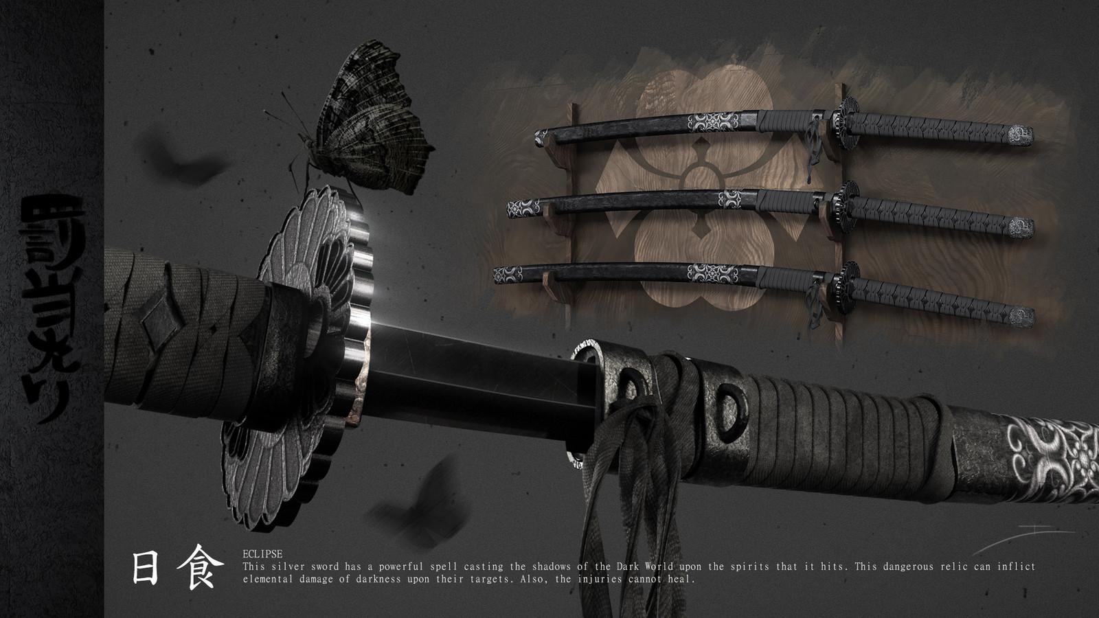Set of magic swords (Eclipse)