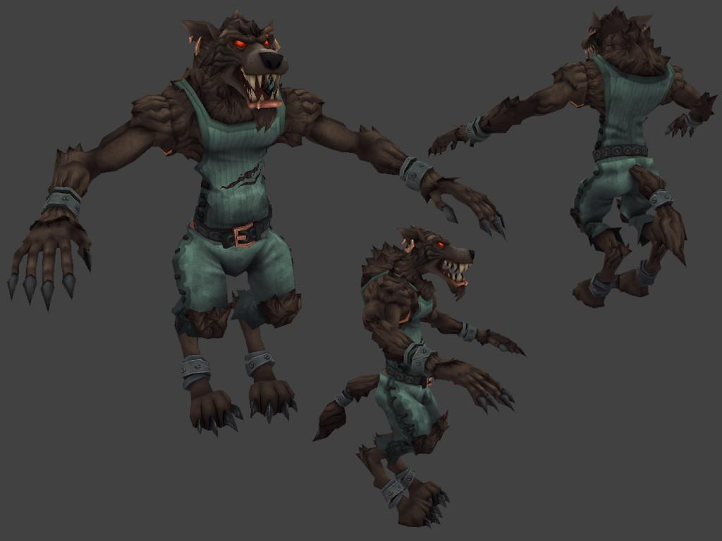 Wolfman - Full Set