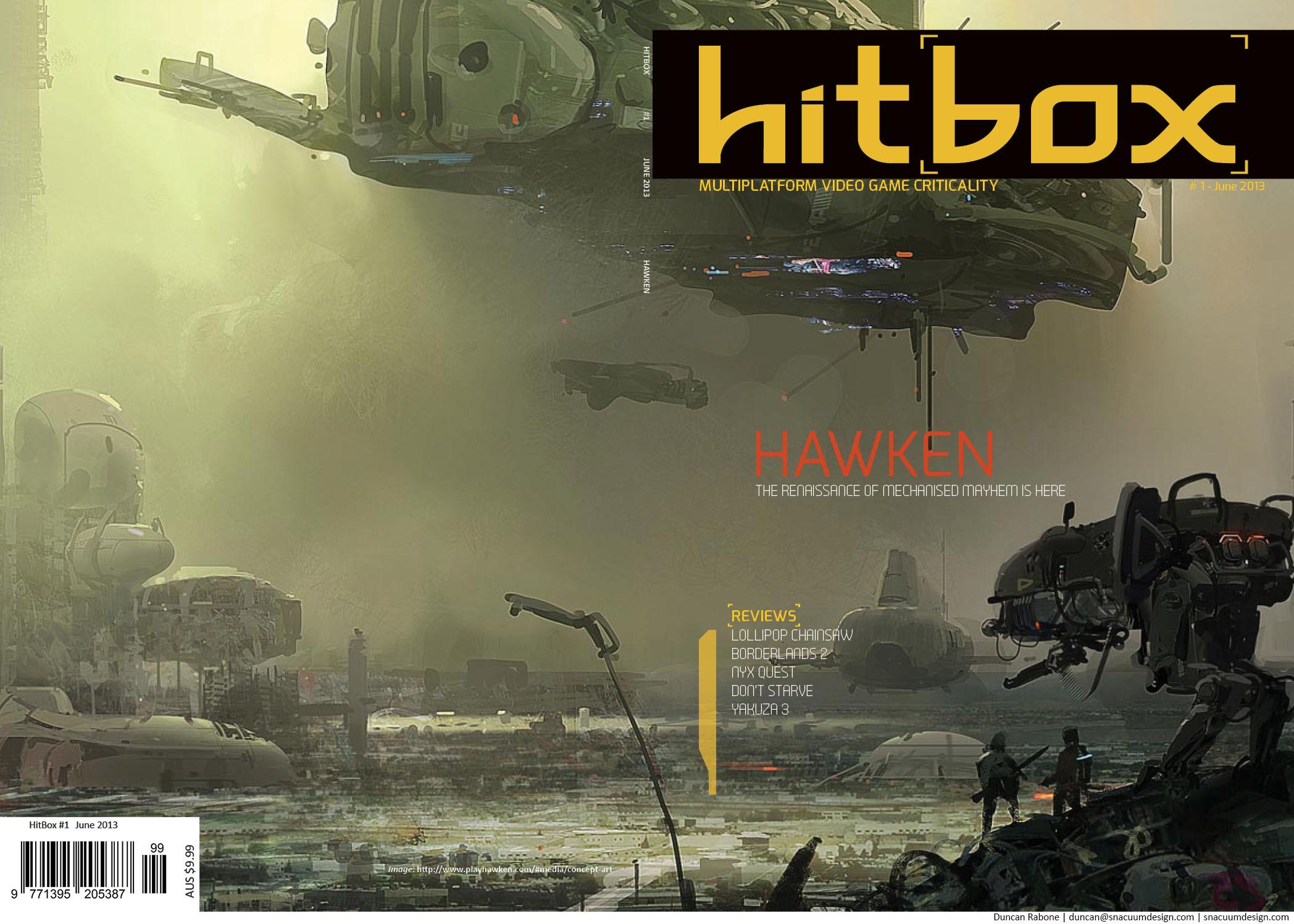 Hitbox - B5 Cover