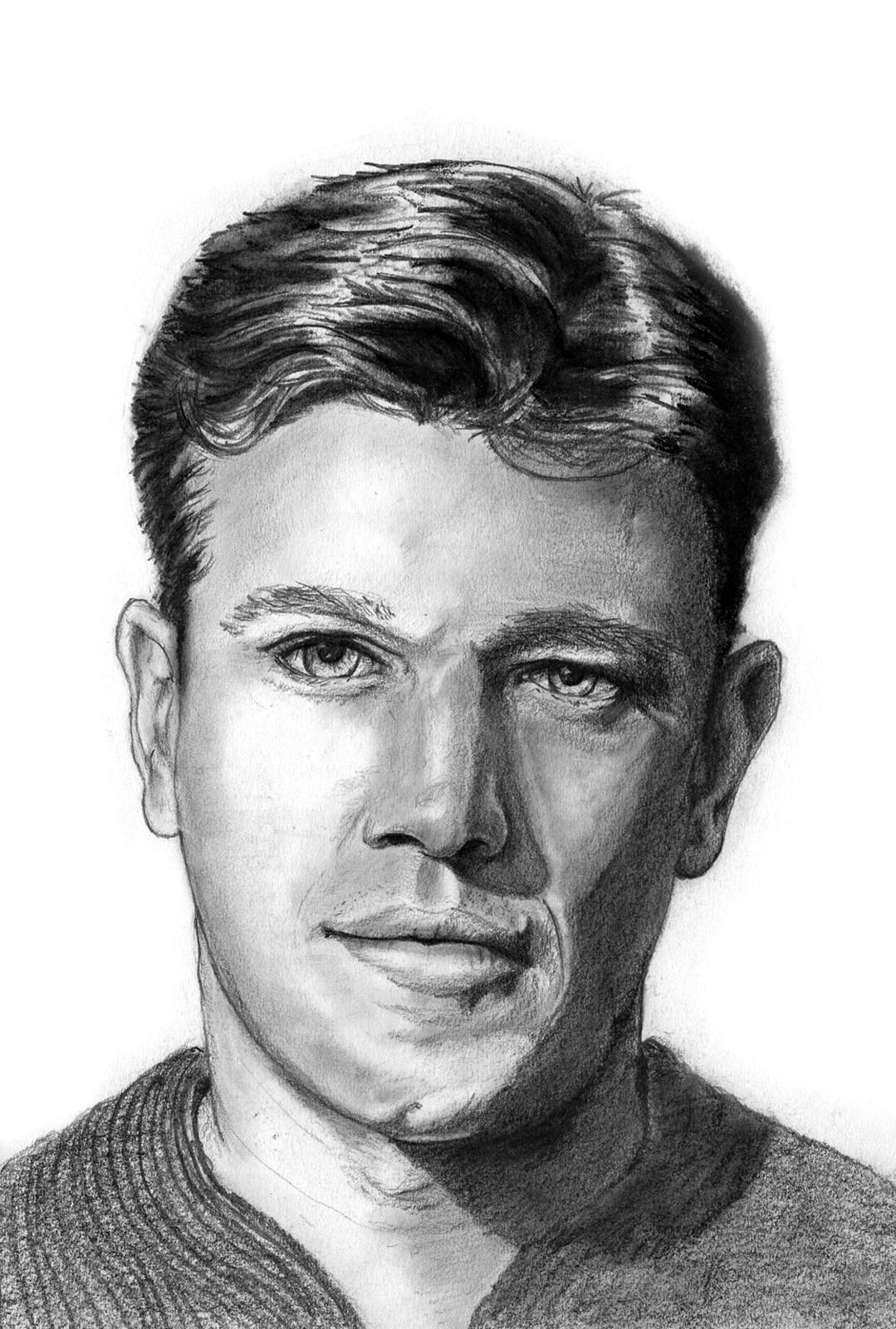 Portrait Study - Matt Damon