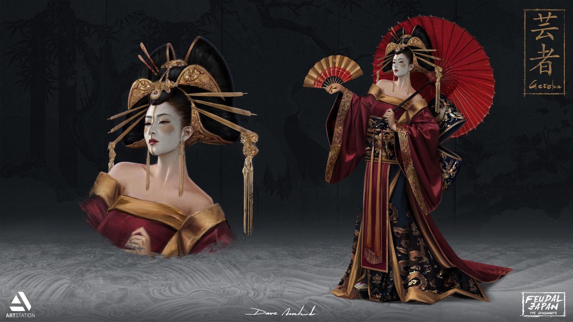 Dave arredondo geisha hd3