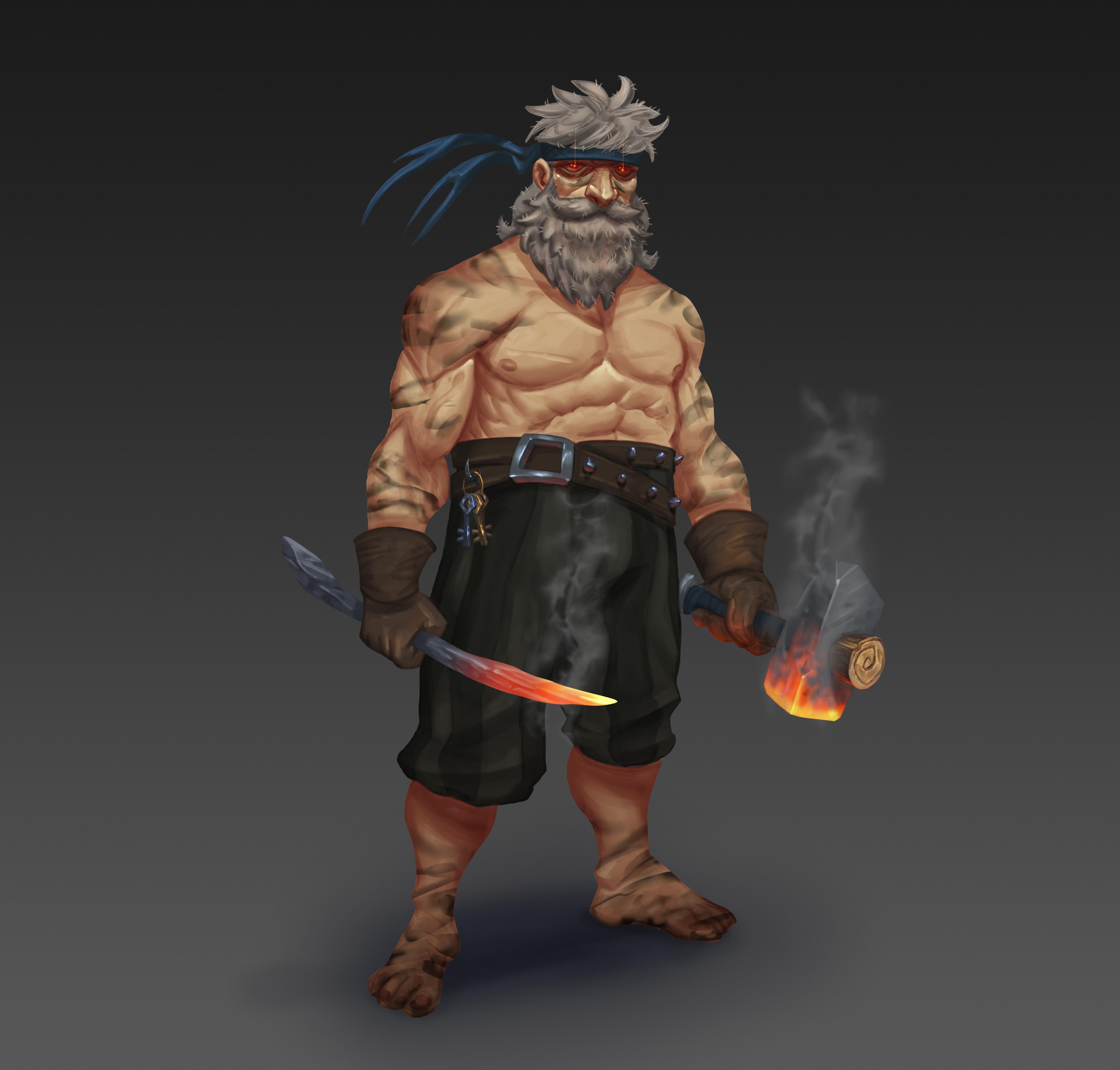 Patxi the Blacksmith