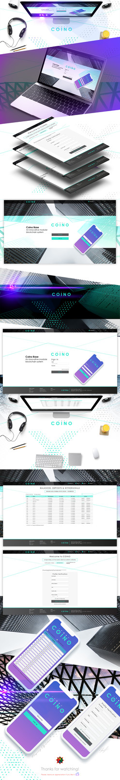 COINO | Site Concept ui design web design