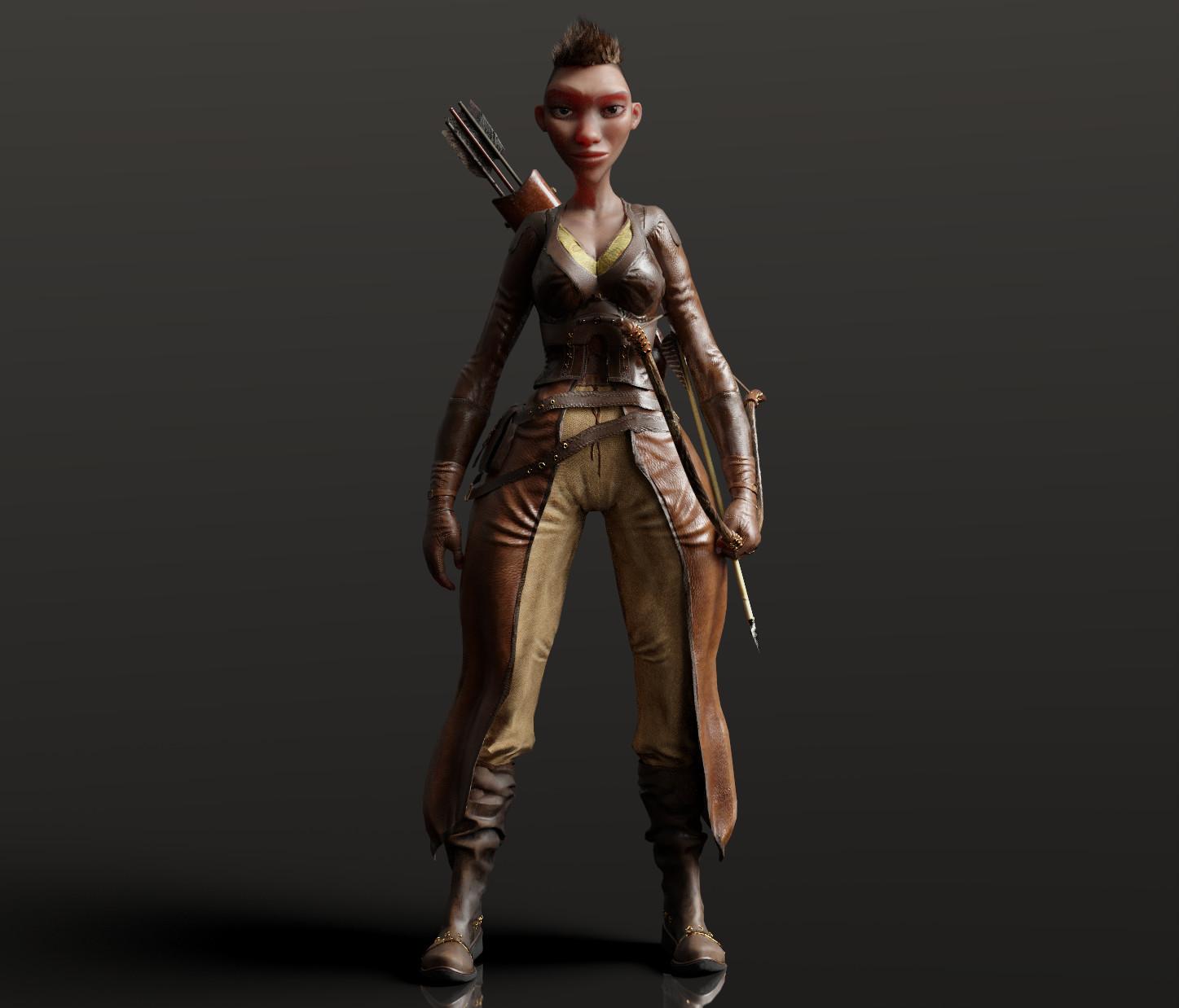 CC3 Huntress Morph