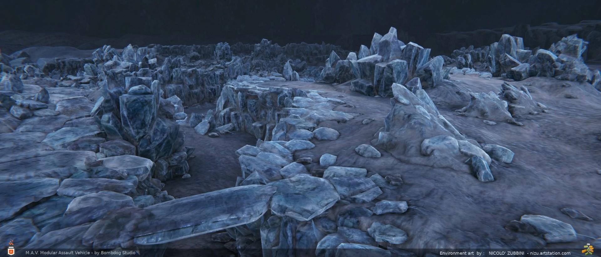 Nicolo zubbini ice mountain 2