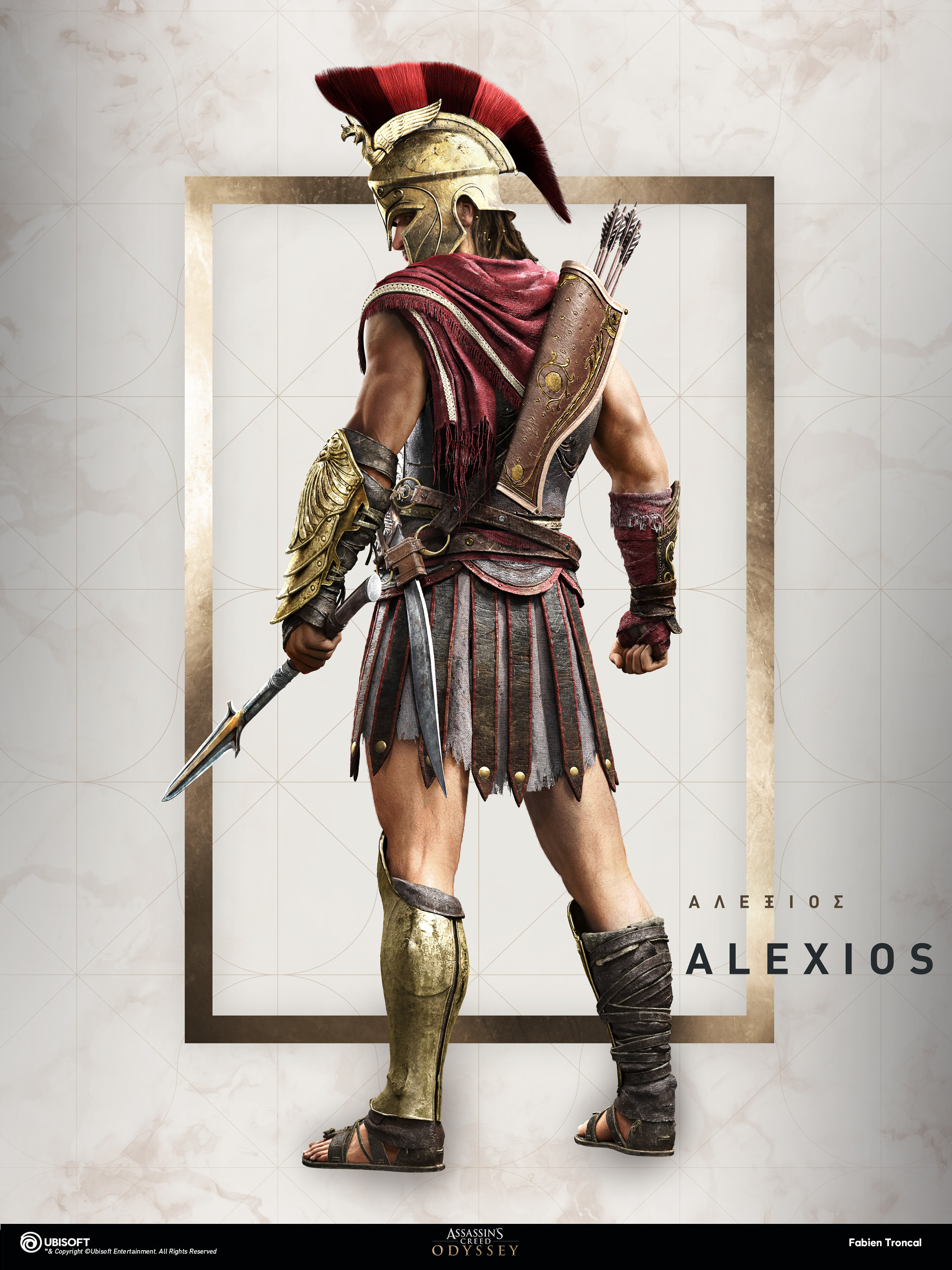 Artstation Assassin S Creed Odyssey Alexios Fabien Troncal