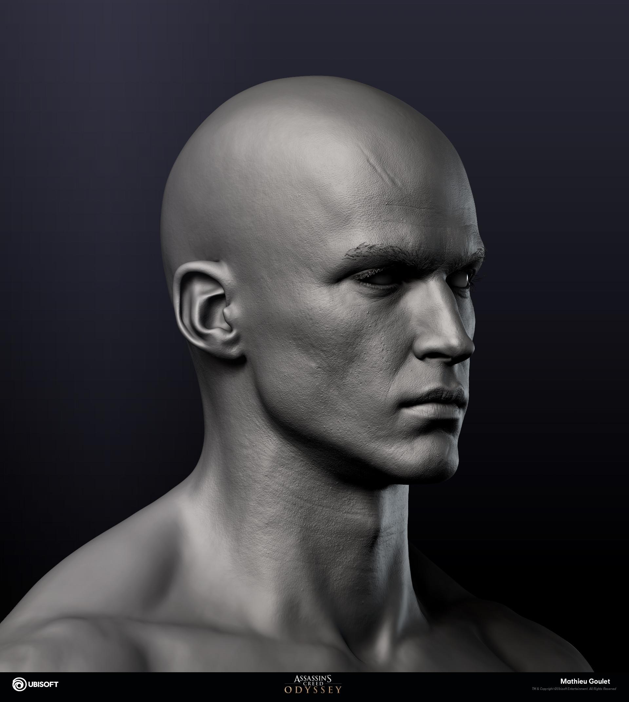 Mathieu goulet alexios face zbrush 02