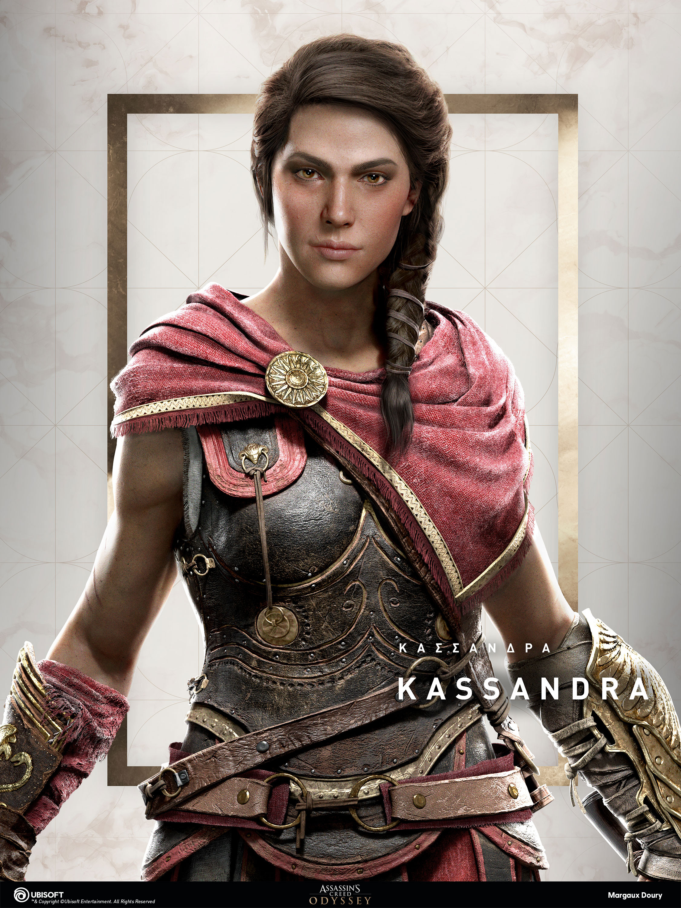 Artstation Assassin S Creed Odyssey Portrait Kassandra