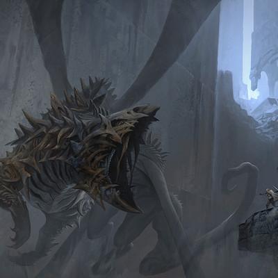 Ahmx hilmi skull dragon add noise 200