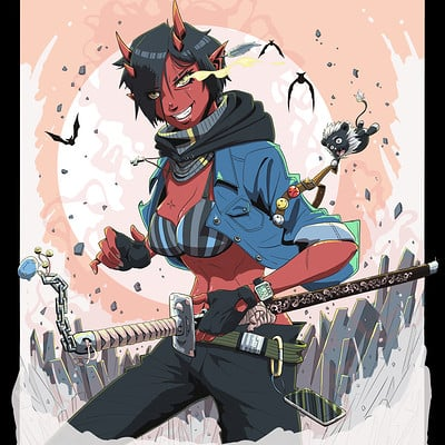 Aime amp rick oni girl samourai