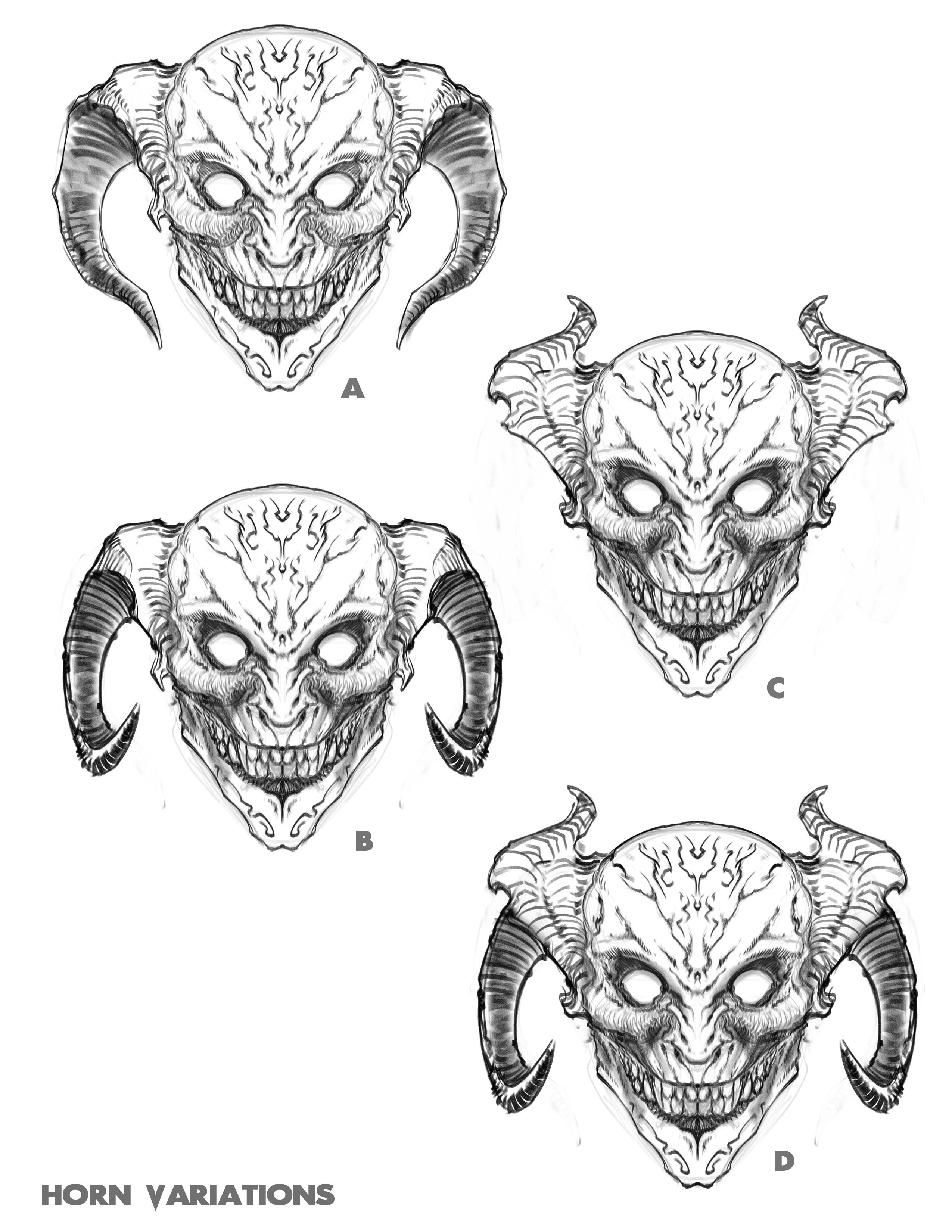 Horn Sketches