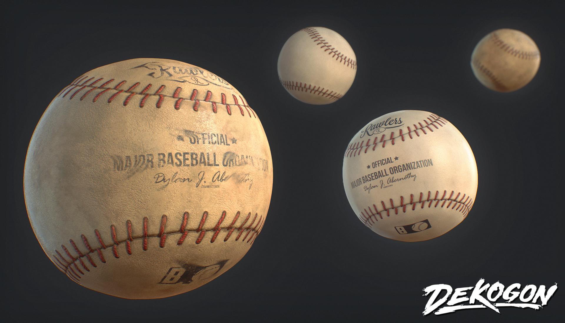Dekogon - Baseball Asset