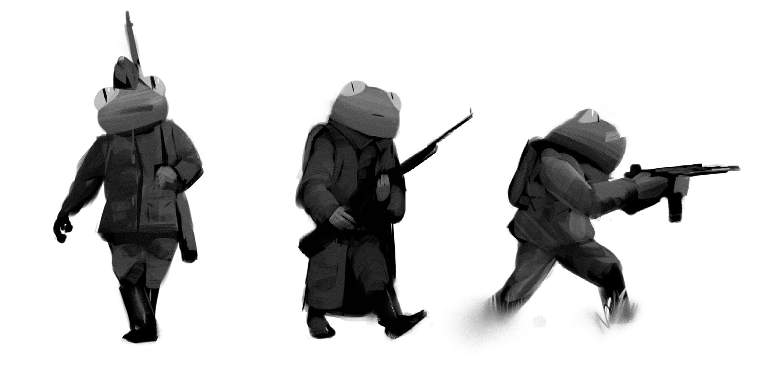 Grenouille Soldiers
