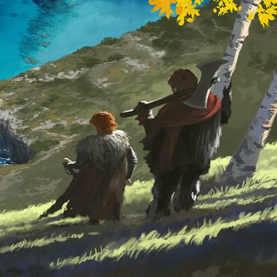 Alfven ato cliff