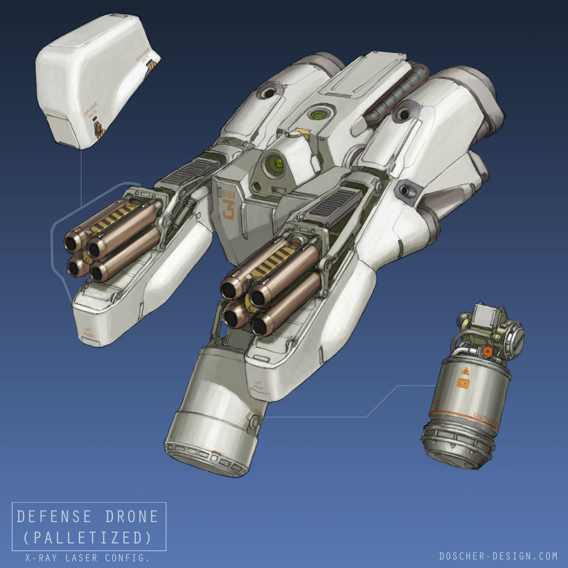 Mike doscher defense drone