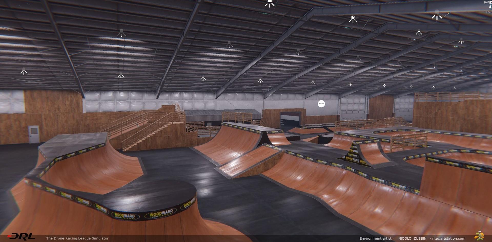 Nicolo zubbini drl skatepark 1