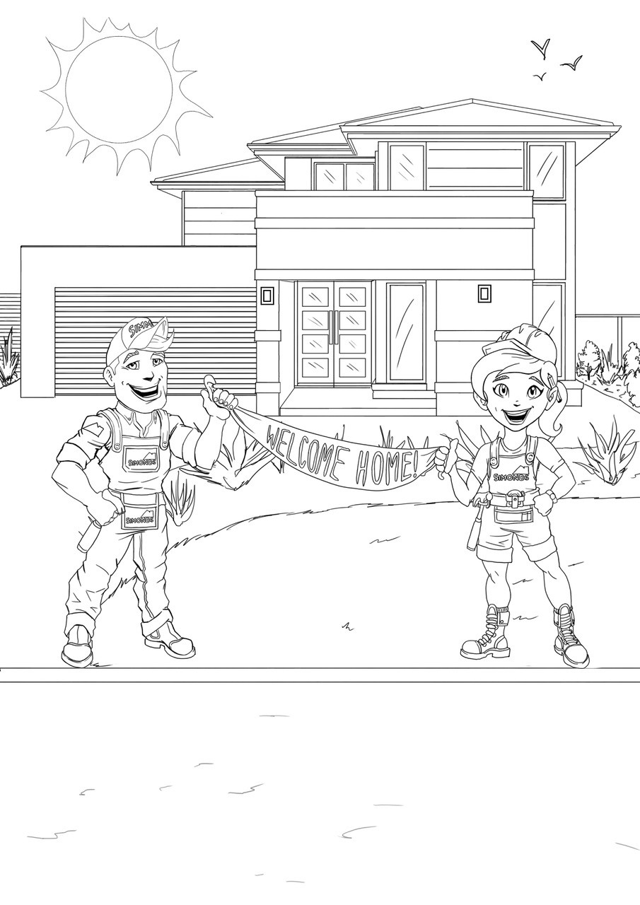 Grange wallis colouring in page 10