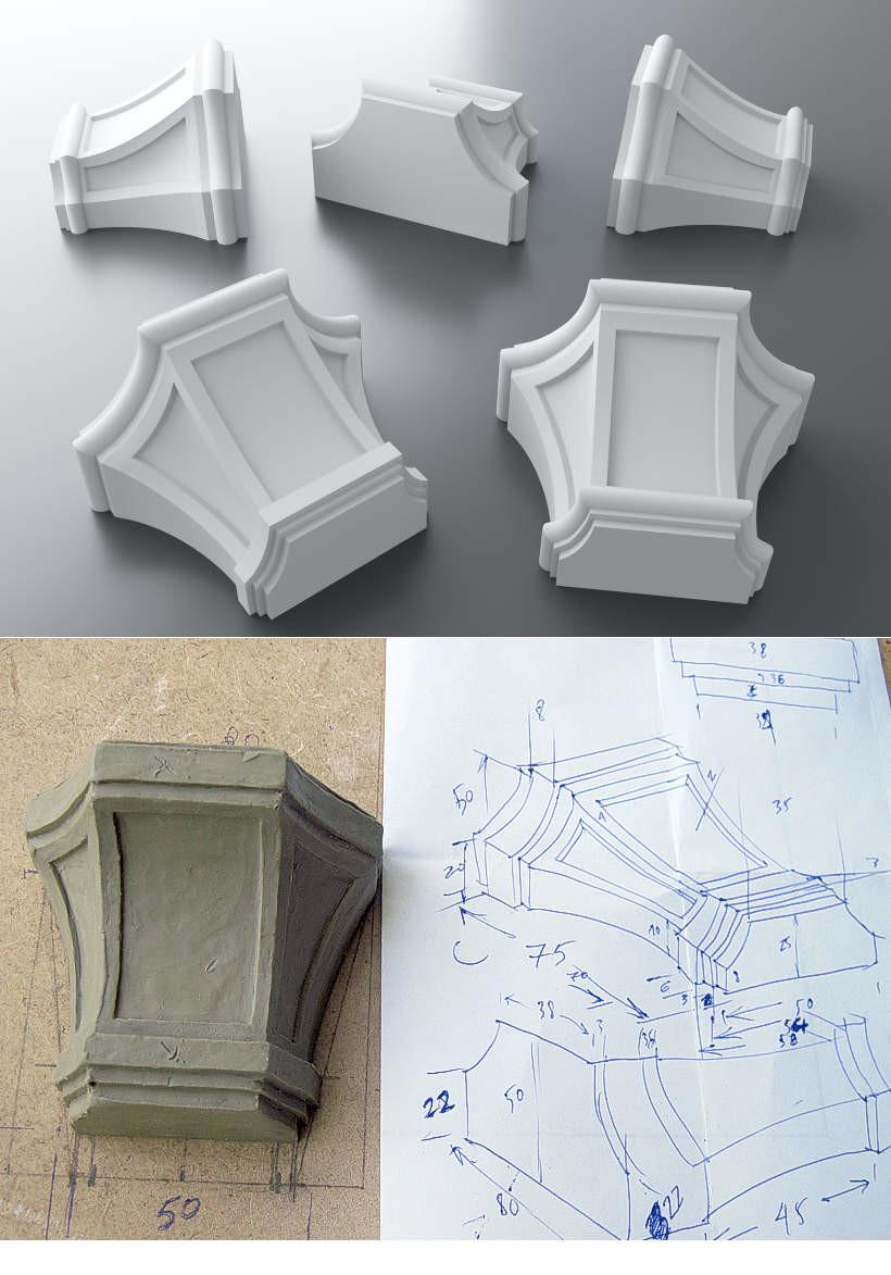 Точная модель по чертежу