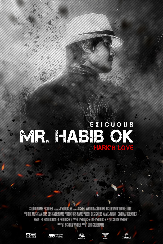 Habib Ok Hollywood Movie Poster Design