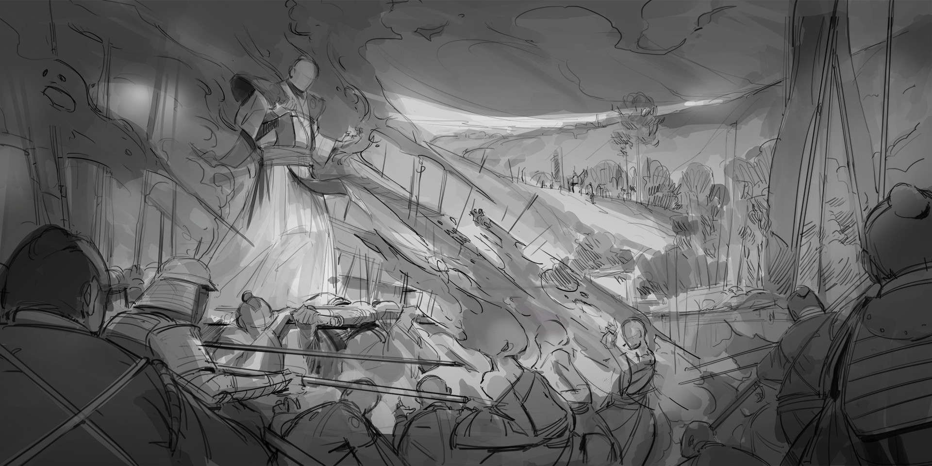 Klaus pillon theshogunate keyframes sketch 003