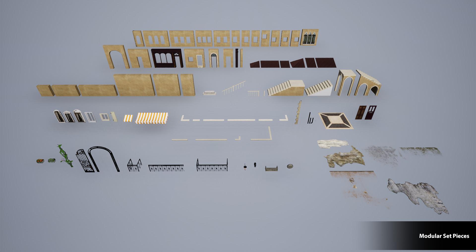 Brenna blackman modular set