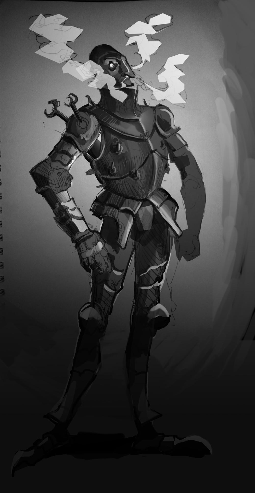 Smoking Knight