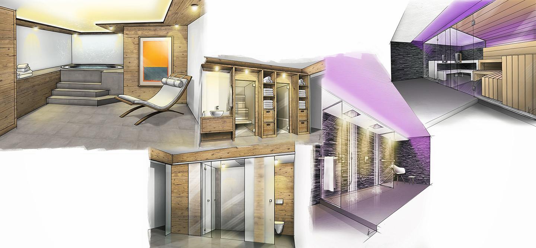 Artstation Various Interior Design Concepts Ivan Reber