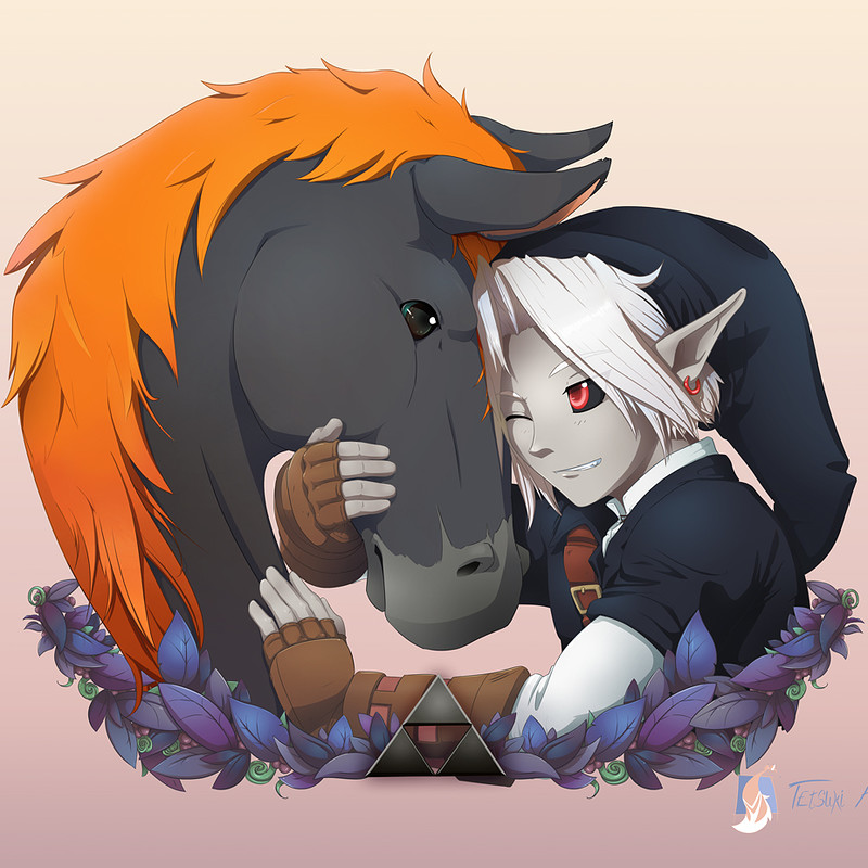 Dark Link and Ganon's Horse