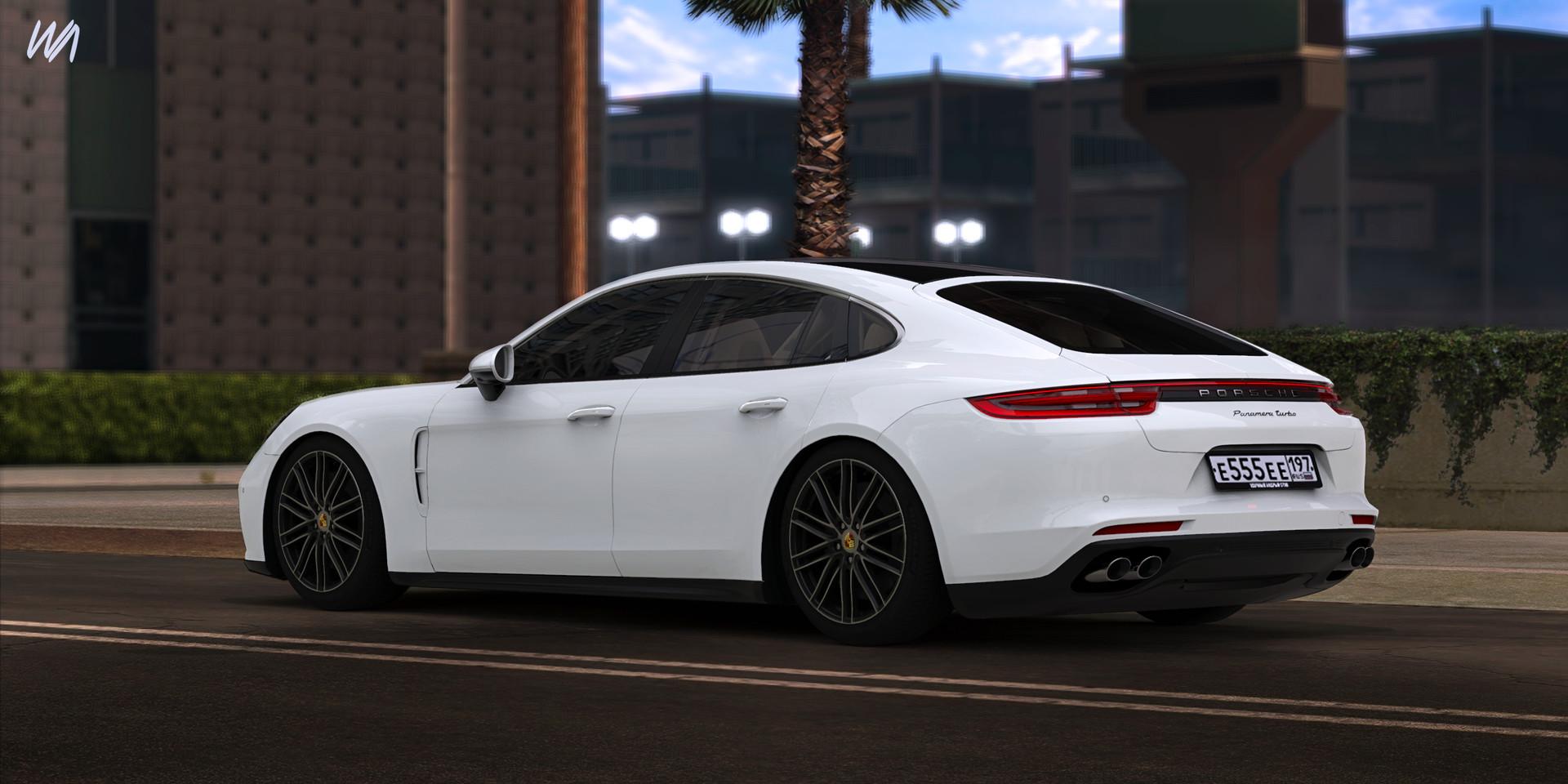 ArtStation - Porsche Panamera Turbo, Vladimir Kravchenko