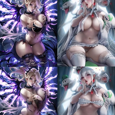 Sakimi chan female pinup vaeiation thumb2