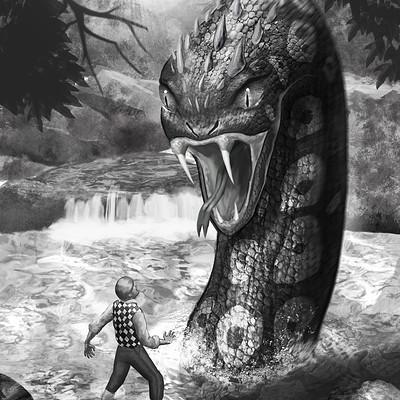 Daniel acosta la serpiente g