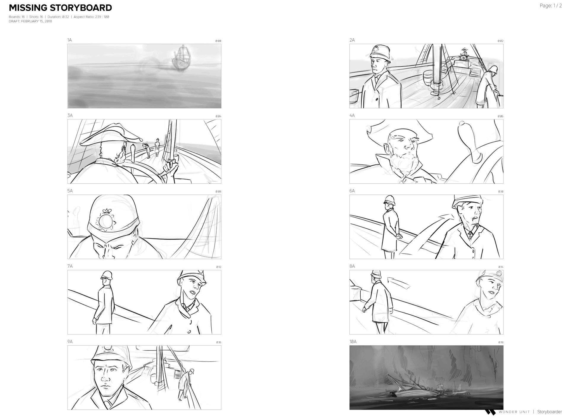 ArtStation - Missing Storyboards, Adam Velazquez