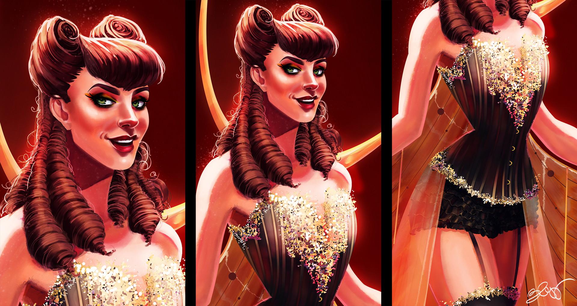 Elisa cella burlesque elisa cella close up